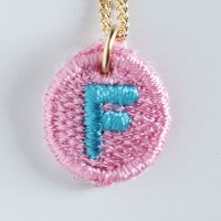 Embroidery Necklace コトダマ F