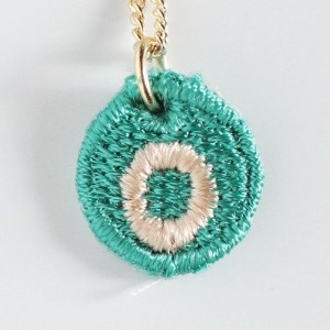 Embroidery Necklace コトダマ O