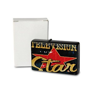 M.A. Allen Pocket Vintage Windproof lighter ライター Brushed Oil Refillable TV Star