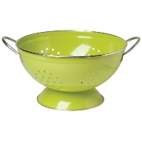 Now Designs Metal Colander, 3-Quart, Cactus Green Green by Now Designs