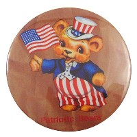 デカンバッチ(Patriotic Bears) DC-039