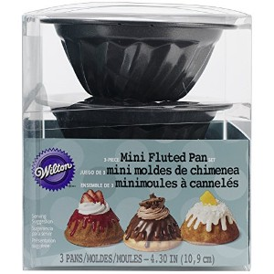 Mini Fluted Pans 3/Pkg-