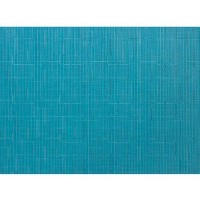 Chilewich Bamboo Rectangle Table Mat Teal (One Piece) by Chilewich