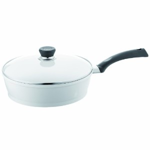 Berndes 697648 SignoCast Pearl Ceramic Coated Cast Aluminum 11.5 inch Covered Saute Pan.