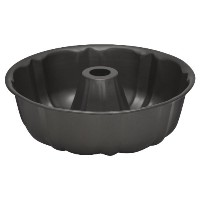 Baker's Secret 1114421 Essentials Fluted Tube/Bundt Pan by Baker's Secret