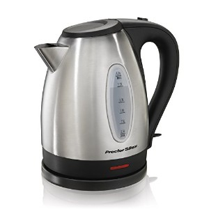 Proctor Silex 40884A Stainless Steel Electric Kettle, 1.7-Liter by Proctor Silex