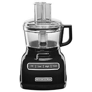 KitchenAid KFP0722OB 7-Cup Food Processor with Exact Slice System - Onyx Black by KitchenAid