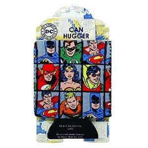 DC Comics DC61033 Grid Can Hugger, 4 x 5, Multicolor by DC Comics