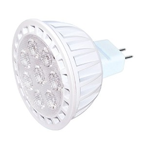 Satco S9105 MR16 LED Gu5.3 Base Dimmable Light Bulb, 7W by Satco