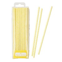 Talking Tables Mix and Match Drinking Straws , Yellow by Talking Tables Mix & Match