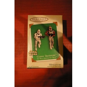 HALLMARK 2003 CLONE TROOPERS FROM STAR WARS ATTACK OF THE CLONE TROOPERS - QXM5127 by Hallmark ...
