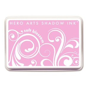 Hero Arts Rubber Stamps Shadow Ink, Soft Blossom by Hero Arts Rubber Stamps