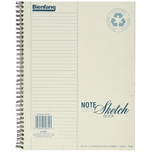 Bienfang Notesketch Paper Pad, Vertical Lined, 64 Sheets, 8.5-Inch by 11-Inch by Bienfang