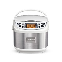Frigidaire Professional 10-Cup Fuzzy Logic Rice Cooker, 11 Cooking Settings with Stainless Steel by...