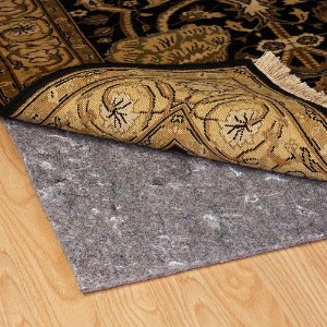 Duo-Lock Reversible Felt and Rubber Non-Slip Rug Pad, Size: 4' x 6' Rug Pad by MSM
