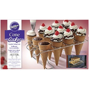 Wilton 2105-4820 Cupcake Cone Baking Rack, Assorted by Wilton Enterprises