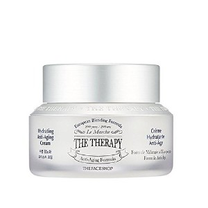 The Face Shop (ザフェイスショップ) ザ セラピー ハイドレーティング アンチエイジング クリーム 50ml / The Therapy Hydrating Anti-Aging...