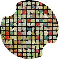 Thirstystone Flower Power Mosaic Car Cup Holder Coaster, by Thirstystone