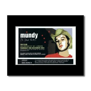 MUNDY - 24 Star Hotel Mini Poster - 21x13.5cm