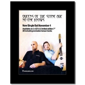 QUEENS OF THE STONE AGE - No One Knows Mini Poster - 28.5x21cm