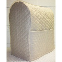 Quilted Kitchenaid Lift Bowl Stand Mixer Cover (Tan) by Penny's Needful Things