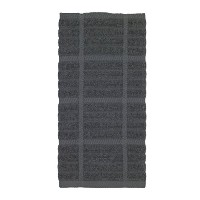 All-Clad Textiles 100-Percent Cotton Solid Kitchen Towel, Pewter by All Clad Textiles