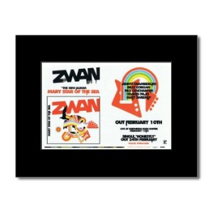 ZWAN - Mary Star of The Sea Mini Poster - 21x13.5cm