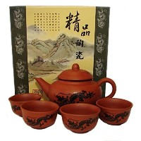 Chinese Traditional Tea Set-dragon picture