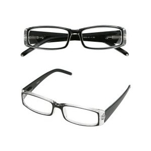 READING GLASSES CLEAR 2.5
