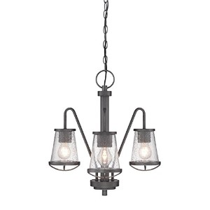 Designers Fountain 87083-WI Darby 3 Light Chandelier by Designers Fountain