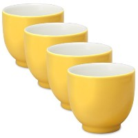 FORLIFE Q Tea Cup ( Set of 4 ) 7 oz. イエロー 520-MND-4