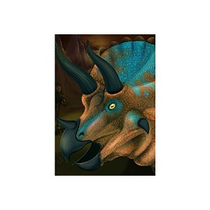 Fridge Magnets - 3d Magnet - Triceratops - 17328 - Wild Republic