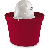 Rival Frozen Delight 2-Quart Ice Cream Maker (Red) by Rival