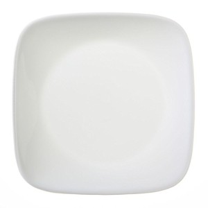 Corelle Square Pure White 6-1/2 Plate (Set of 4) by Corelle Coordinates