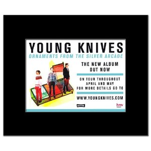 YOUNG KNIVES - Ornaments From the Silver Arcade Mini Poster - 21x13.5cm