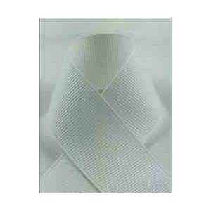 Schiff Ribbons 744-16 Polyester Grosgrain 2-1/4-Inch Fabric Ribbons, 20-Yard, White by Schiff...