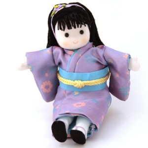 Japanese Musical Doll by Green Tree - Purple Outfit by GreenTree