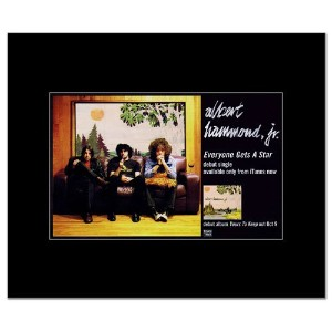 ALBERT HAMMOND JR - Everyone Gets a Star Mini Poster - 22.8x14cm