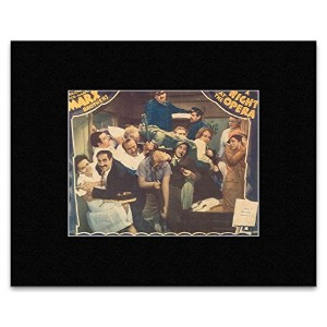 A NIGHT AT THE OPERA - The Marx Brothers Mini Poster - 16.2x21.5cm