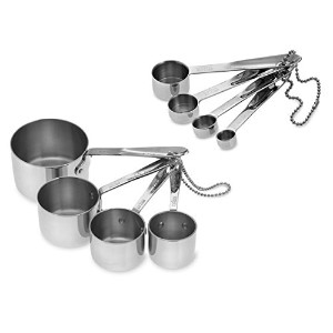 All-Clad 8-Piece Measuring Cups and Spoons Set by All-Clad