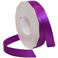 Morex Ribbon Neon Brights Satin, 7/8-inch by 50-yard, Bright Purple by Morex Ribbon