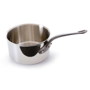 Mauviel M'Cook 5 Ply Stainless Steel 5610.12 0.8-Quart Sauce Pan with Cast Iron Handle [並行輸入品]