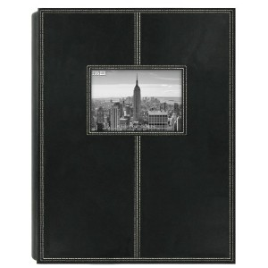 Pioneer Photo Albums 5PS-300 300-Pocket Sewn Leatherette Frame Cover Photo Album, Black by Pioneer...