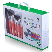 FlyingColors Stainless Steel Flatware Set. 20 Pieces, Service for 4 by Flying Colors