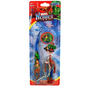 Marvel Heroes Smile Guard Toothbrush Buddy [Spider-Man Blue]