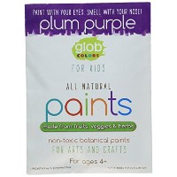 Glob Natural Paint 2Oz Packet Plum Purple by Glob Colors