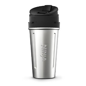 24 oz. Stainless Steel Nutri Ninja with Sip & Seal Lid (XSKDWSS24) [並行輸入品]