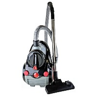 Ovente ST2010 Featherlite Cyclonic Bagless Canister Vacuum with Hepa Filter and Sofa Brush - Corded...
