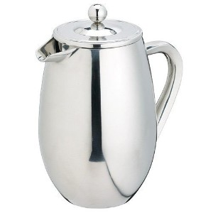 Stainless Steel French Coffee Press - 8 Cup - Double Wall Insulated [並行輸入品]