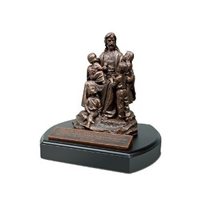 "Lighthouse Christian Products Moments of Faith Jesus and The Children Sculpture, 6 "" by Lighthouse..."